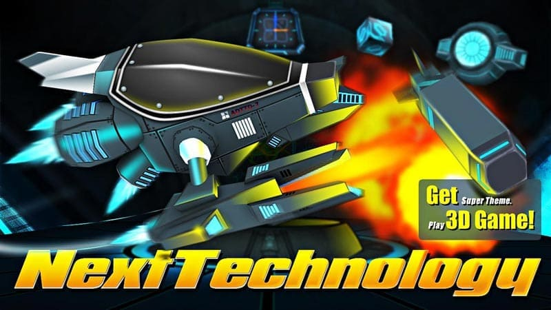 Next Technology Theme 3D LWP