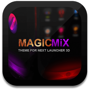 Next Launcher Theme MagicMix на андроид