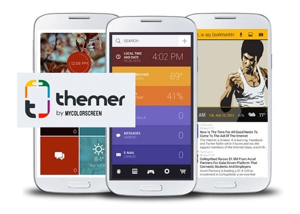 Themer: Launcher, HD Wallpaper на андроид