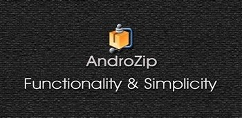 AndroZip Pro File Manager на андроид