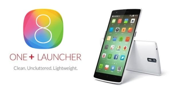 One Launcher (iOS 8 HD Retina Theme)