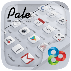 Pale GO Launcher Theme