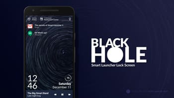 Black Hole - Lock screen