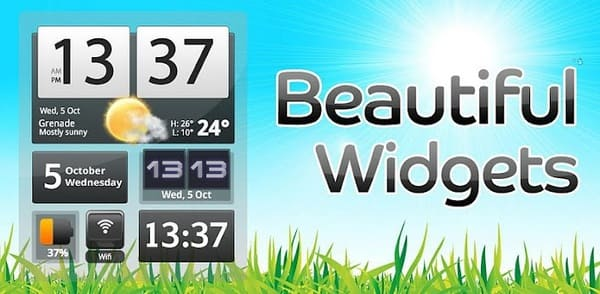 Beautiful Widgets Pro на андроид