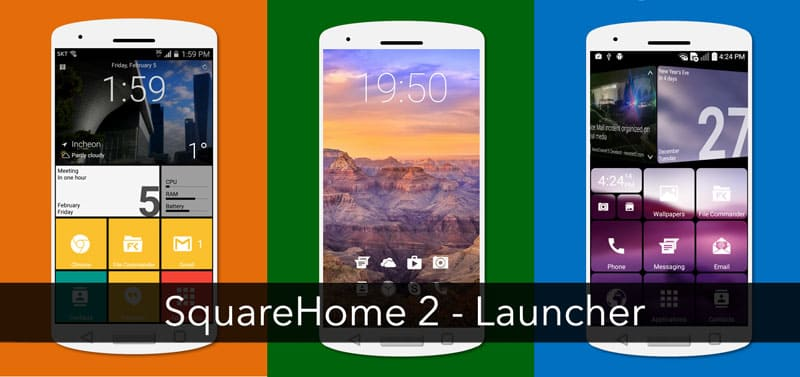 SquareHome 2 - Launcher