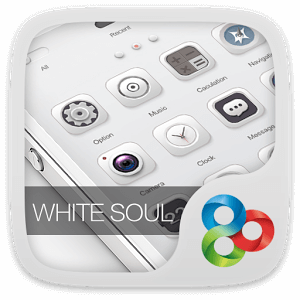 White Soul GO Launcher Theme на андроид