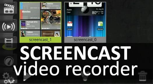 Screencast Video Recorder на андроид