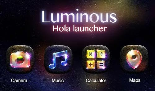 Luminous Hola Launcher