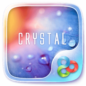 Crystal GO Launcher Theme на андроид