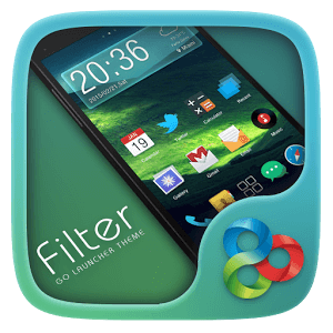Скачать тему Filter GO Launcher Theme
