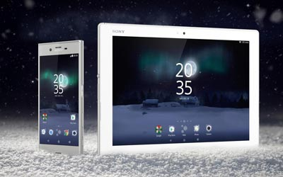 XPERIA Magical Winter Theme