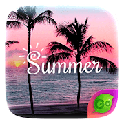 Summer GO Keyboard Theme