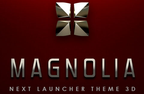 Magnolia Next Launcher Theme на андроид