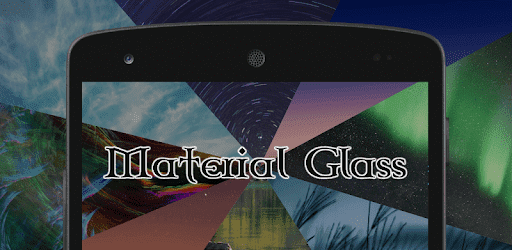 Material Glass Substratum