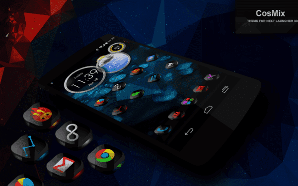CosMix 3D Next Launcher Theme на андроид