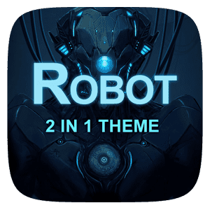 Robot 2 In 1 Theme на андроид