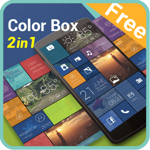 Color Box 2 In 1 Theme