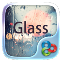Glass GO Launcher EX Theme на андроид