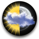 Animated Weather Widget & Clock