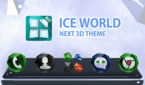 Next Ice World 3D Theme