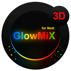 Скачать даром GlowMix Next Launcher Theme
