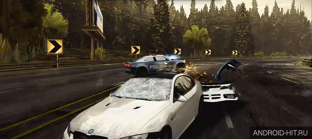 Скриншот NFS Most Wanted на андроид