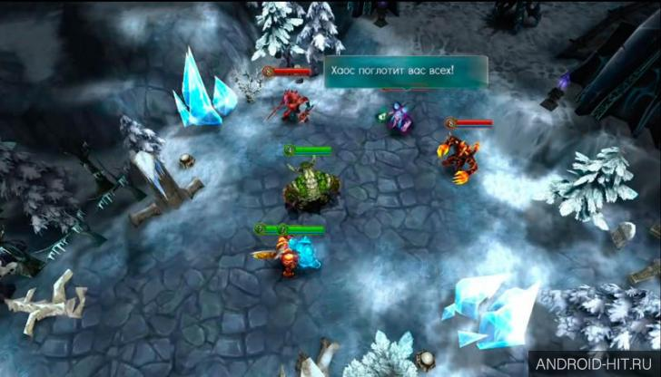 Order chaos apk and Heroes of
